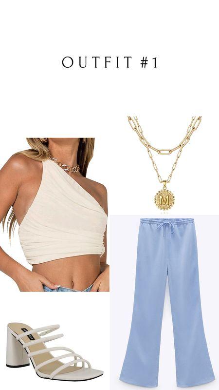 Amazon, Zara and Nordstrom finds 🛒   Zara Pants: Color Sky blue | 7936/020  #LTKsalealert #LTKSeasonal #LTKunder50