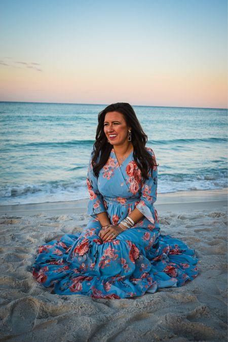 You are more beautiful than any sunset or sunrise 🌅✨ The perfect summer wedding guest dress! @liketoknow.it Dress: @chicwish wearing a size Small in the dress and fits true to size.  http://liketk.it/3gAGq #liketkit #LTKwedding #LTKunder100 #LTKtravel