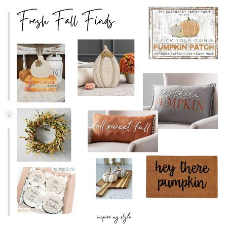 Fresh Fall affordable home decor for you! My Etsy and Kirklands favorites. #falldecor #autumn #home #etsy #kirklands Download the LIKEtoKNOW.it app to shop this pic via screenshot #LTKstyletip #LTKunder100 #LTKhome http://liketk.it/2XZIz @liketoknow.it #liketkit