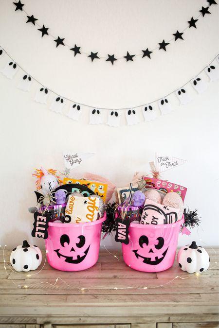 Halloween, boo basket, kids   #LTKkids #LTKfamily #LTKSeasonal