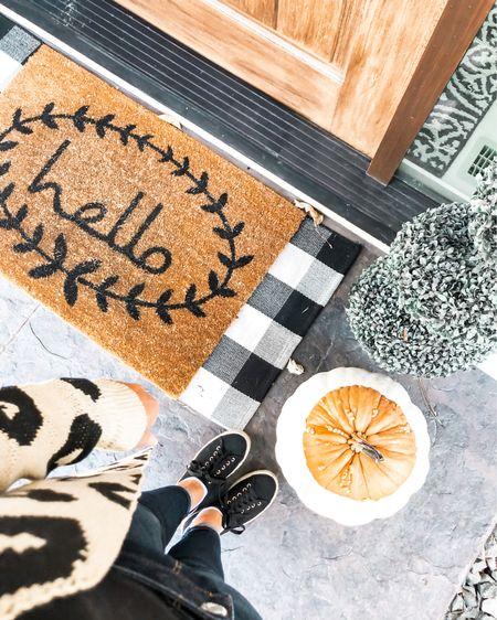Fall porch decor  #LTKSeasonal #LTKhome #LTKstyletip