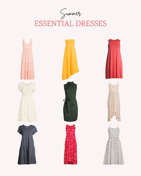 I love a lightweight dress for summer! They're great for a swimsuit coverup, for barbecues or to wear to weddings. Just changing your shoes and jewelry can completely dress up or dress down these affordable options.   Follow me for more ideas and sales.   #LTKSeasonal #LTKstyletip #LTKunder50