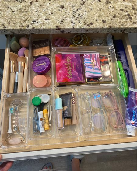 9 piece bathroom drawer organizer http://liketk.it/3ixu5 @liketoknow.it #liketkit #LTKhome #LTKunder50 #LTKsalealert @liketoknow.it.home Shop your screenshot of this pic with the LIKEtoKNOW.it shopping app
