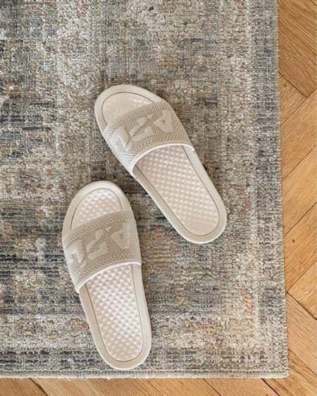 The comfiest slide sandals for spring/summer    http://liketk.it/3fJuo #liketkit @liketoknow.it #LTKshoecrush #LTKunder100
