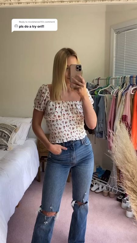 Summer outfits, summer fashion, summer fashion trends, summer trends, summer style, Abercrombie jeans, best jeans for girls