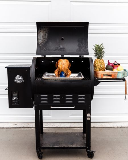 Warmer weather and smoking season is upon us! 😍 We love pulling out our smoker, and this bad boy does not disappoint! Check out our go-to smoking setup 💃🏼 http://liketk.it/2BKZ8 #liketkit @liketoknow.it #LTKhome @liketoknow.it.home Follow me on the LIKEtoKNOW.it app to get the product details for this look and others