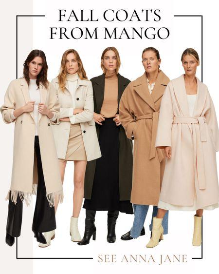 Fall Coats From Mango 🍂  #fallcoat #falljacket #mango #mangocoat #fallstyle #falloutfits #fallclothing #falloutfitideas #coat #trenchcoat #woolcoat #fallfashion  #LTKstyletip #LTKSeasonal