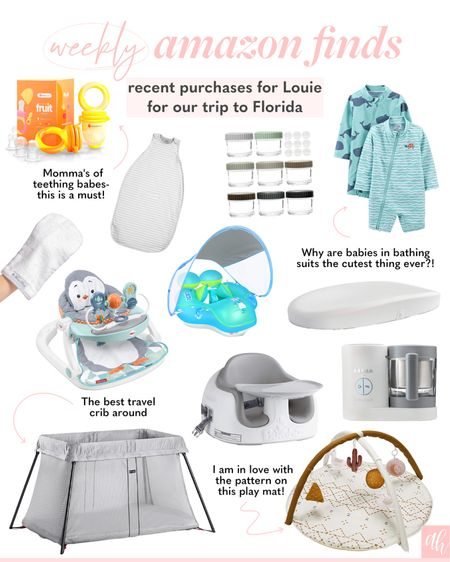 Baby finds on Amazon, traveling essentials for a baby   #LTKfamily #LTKkids #LTKbaby