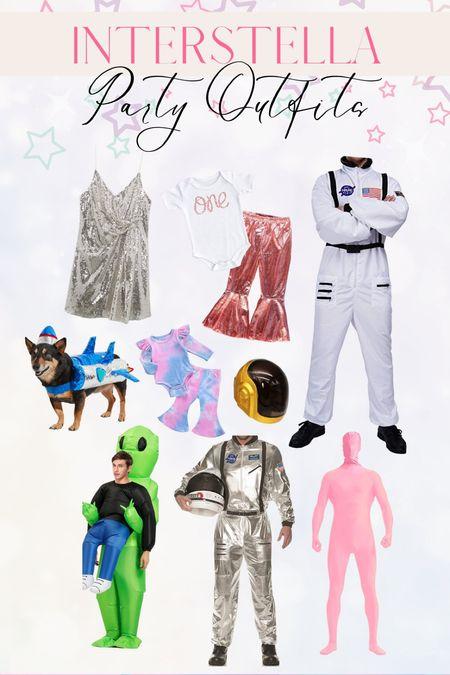 Interstella. Space theme birthday outfits. Birthday Party costumes. Halloween.   #LTKstyletip #LTKunder100