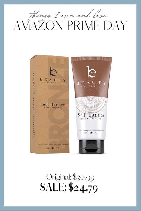 THE best clean ingredient self tanner #primeday #amazonprimeday http://liketk.it/3idf9 #liketkit @liketoknow.it
