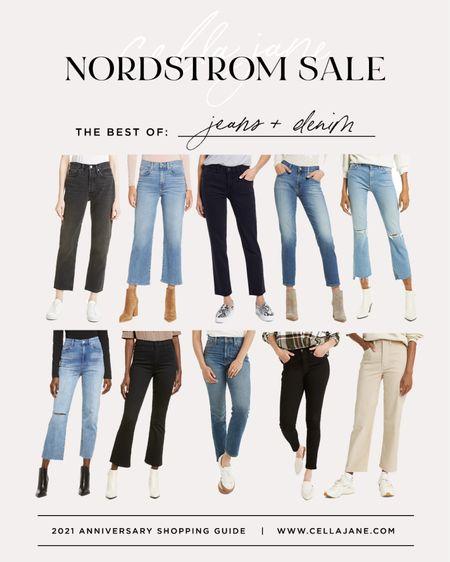 Nordstrom anniversary sale best of Jeans   #LTKunder100 #LTKsalealert