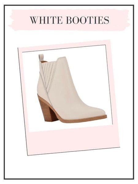 Rounding up a few cute white booties for fall!   #LTKunder50 #LTKunder100 #LTKshoecrush