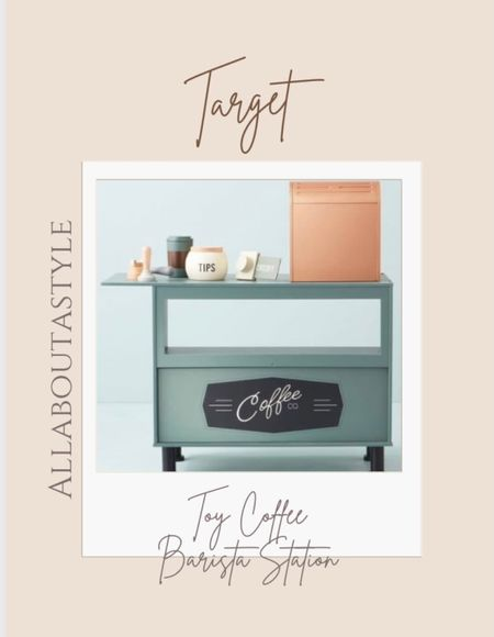 If I my I had little ones. This toy coffee barista station is absolutely adorable. #target #christmasgift #forthekiddos #christmas  Follow my shop @allaboutastyle on the @shop.LTK app to shop this post and get my exclusive app-only content!  #liketkit #LTKSeasonal #LTKGiftGuide #LTKHoliday @shop.ltk http://liketk.it/3pYGc