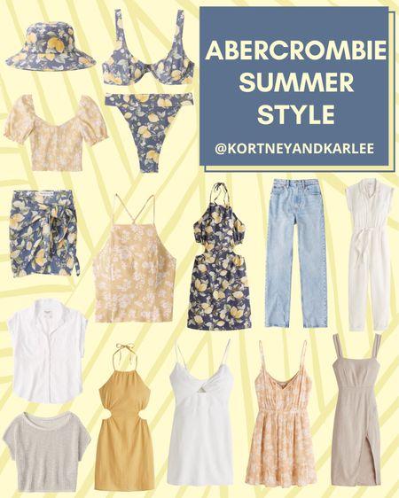 Abercrombie Summer Style  Abercrombie summer fashion | Abercrombie Summer favorites | Abercrombie Sale | Abercrombie summer sale | Abercrombie dress | Abercrombie jeans | Abercrombie swimsuit | Abercrombie t-shirt | Abercrombie top | Abercrombie swim | Kortney and Karlee | #kortneyandkarlee #LTKunder50 #LTKunder100 #LTKsalealert #LTKstyletip #LTKSeasonal @liketoknow.it #liketkit #LTKDay http://liketk.it/3hy9L