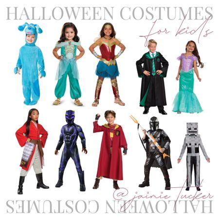 Halloween costumes and inspo for kids. | #halloweencostumes #kidscostumes #kidshalloween #girlshalloweencostumes #halloweeninspo #halloweenoutfits #halloweenwear #JaimieTucker   #LTKSeasonal #LTKkids