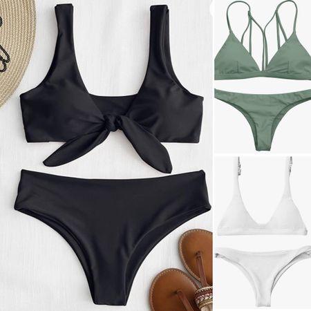 Beautiful bikinis from @amazon   You can instantly shop all of my looks by following me on the LIKEtoKNOW.it shopping app http://liketk.it/3hSl5 H #liketkit @liketoknow.it #ltksummer #swim #bikini #onearmbikini #poolstyle #summer #summer2021 #amazonbikini #beachvacation #bikini #frenchcutbikini #simplebikini #swim #swimwear