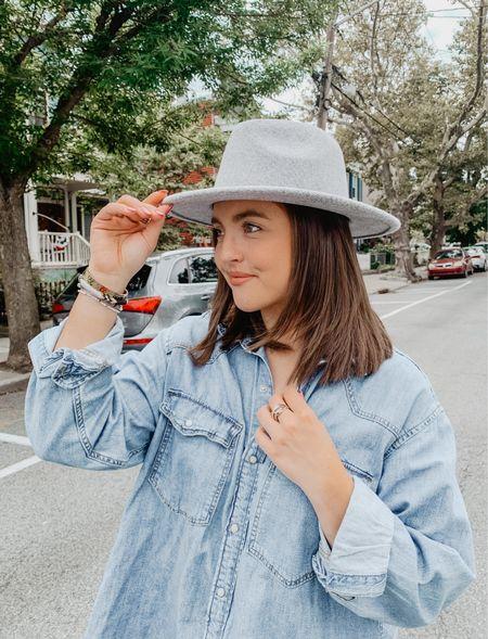We love a $7 Walmart sale rack hat  Linked some similar ones here!   #LTKSeasonal #LTKstyletip #LTKsalealert