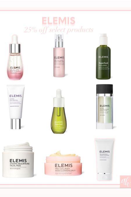 25% off select Elemis products during the LTK sale, early gifting sale, beauty products on sale   #LTKSale #LTKsalealert #LTKbeauty