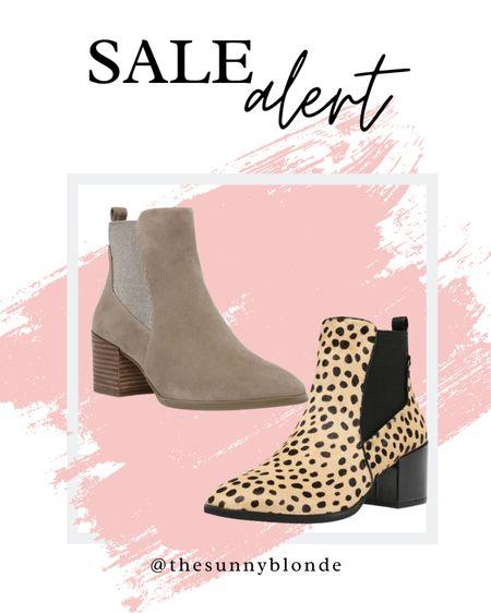 Sale alert! Fall bootie edition 🍂  #LTKSeasonal #LTKsalealert #LTKunder100