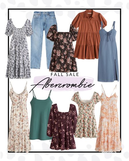 Abercrombie is having a sitewide sale and I pulled some of my favorite pieces for transitioning into fall! So many incredible dresses and of course their curve love denim.   #LTKcurves #LTKfit #LTKsalealert