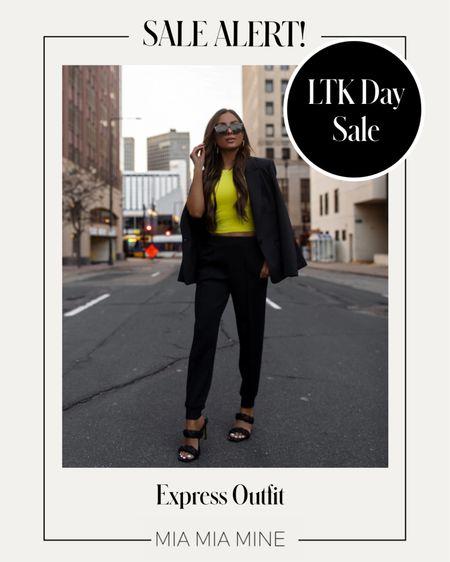 Express workwear outfit on sale for LTK Day   #LTKsalealert #LTKDay #LTKworkwear
