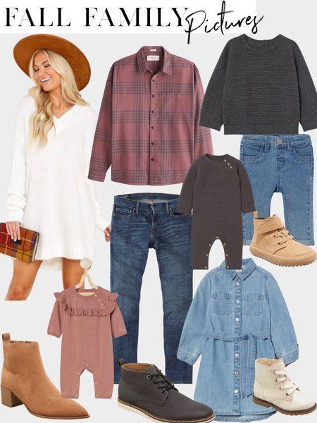Affordable fall family photo outfit inspo!  #LTKsalealert #LTKunder50 #LTKunder100