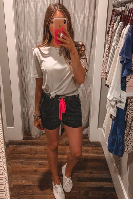 Size small in shorts size medium in tee. Use code XOCAMPBELL15  #liketkit @liketoknow.it http://liketk.it/2CNwM