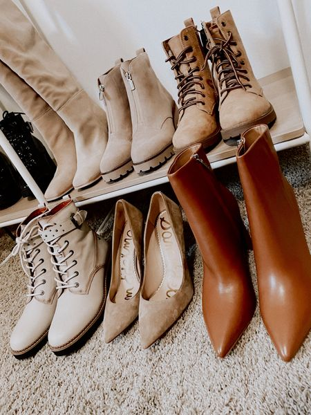 Fall boots and footwear.  Love these colors for fall.   #LTKsalealert #LTKstyletip #LTKshoecrush