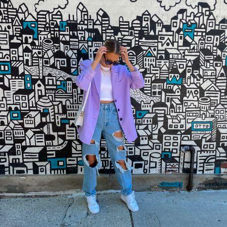 My favorite summer staple: oversized blazers   #LTKstyletip #LTKSeasonal #LTKunder100