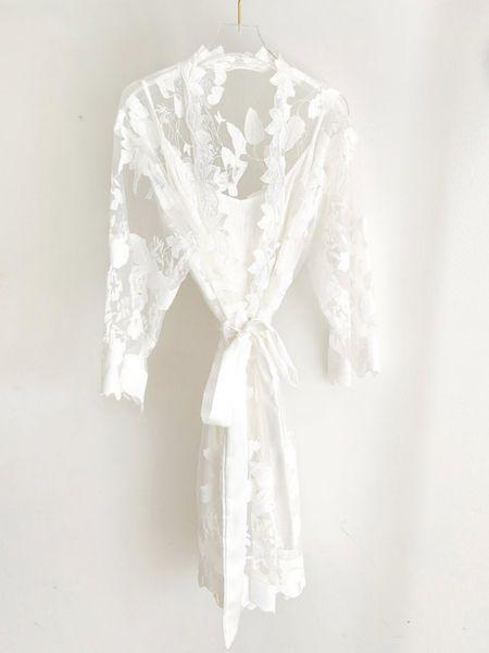 Bridal robe by the TropicalWedding 🤍   http://liketk.it/3gxrL @liketoknow.it #liketkit #LTKwedding #LTKstyletip