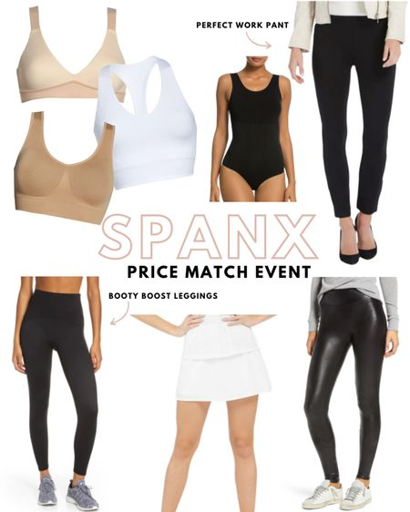 Spanx is price matching the same items from the Nordstrom anniversary sale on their website! So if your size sells out, you can grab it there 🙌  #LTKsalealert #LTKSeasonal #LTKstyletip