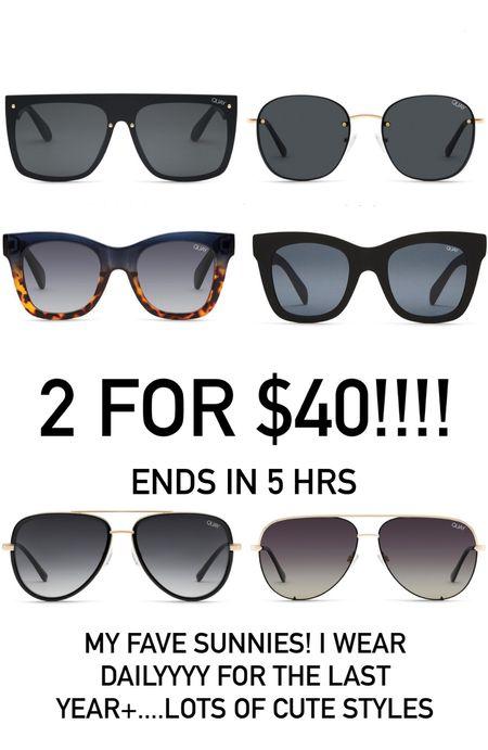 Quay Australia sunglasses sale  #LTKunder50 #LTKstyletip #LTKsalealert