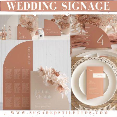 Boho Wedding Signs— table number, wedding welcome sign, etc   http://liketk.it/3hHtA #liketkit @liketoknow.it @liketoknow.it.brasil @liketoknow.it.europe @liketoknow.it.family @liketoknow.it.home #LTKeurope #LTKwedding #LTKstyletip