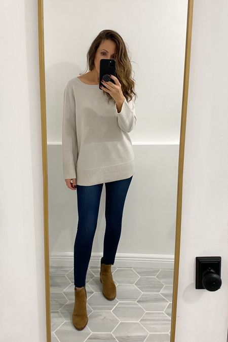 This sweater is amazing (I sized down). Comes in more colors    #LTKshoecrush #LTKsalealert #LTKstyletip