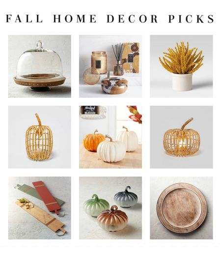 Great looking fall pieces for the home.   #LTKhome #LTKunder50 #LTKstyletip
