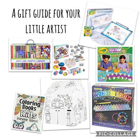 I have a creative kiddo in my house who loves art so I rounded up a few of the artsy things he's gotten in the past or currently has on his wishlist.   http://liketk.it/31wz0 #liketkit @liketoknow.it #LTKgiftspo