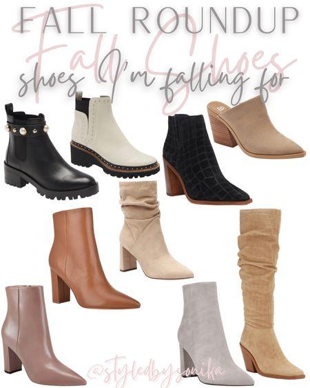 Boots booties fall shoes  #LTKSeasonal #LTKsalealert #LTKshoecrush
