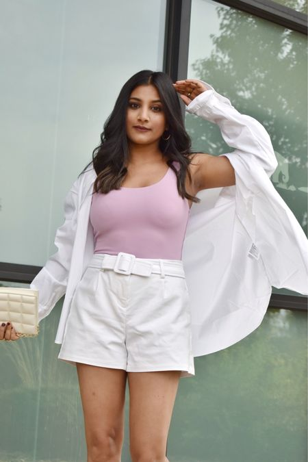 I found perfectly oversized white shirt for petite women. I got mine in xs and it is available only for $17 #whiteshirt #petitefit  #LTKGiftGuide #LTKSeasonal #LTKunder50