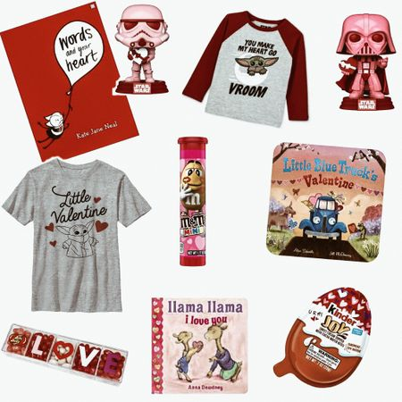 Target has made it so easy to put together Valentine's Day goodies for the little boys in our lives. Check out these adorable Star Wars themed toys, clothes and candy.    Shop your screenshot of this pic with the LIKEtoKNOW.it shopping app    http://liketk.it/38ajM    #liketkit @liketoknow.it #LTKVDay #LTKkids #LTKunder50 @liketoknow.it.family @liketoknow.it.home