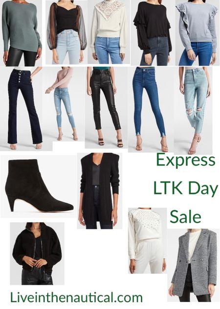 Express has some of my favorite denim!   #LTKDay #LTKSeasonal #LTKSale
