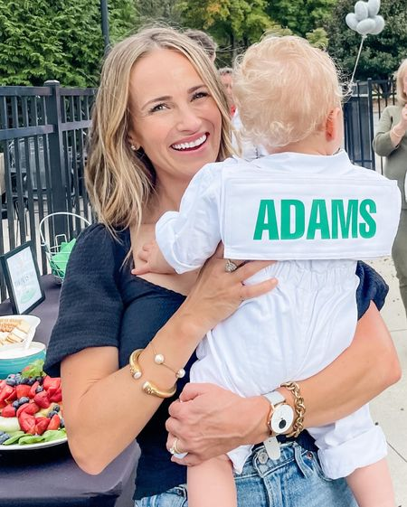 This personalized caddie outfit was the highlight of Thomas' first birthday party (golf themed!) and a perfect Halloween costume. Shipping was FAST so you might be able to get it for Halloween!    #LTKkids #LTKbaby #LTKfamily