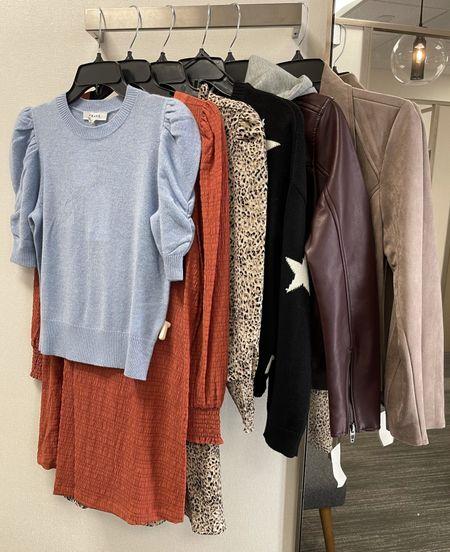 Another clients #nsale dressing room full of some fun fall pieces! 🍂  #LTKworkwear #LTKsalealert #LTKunder100
