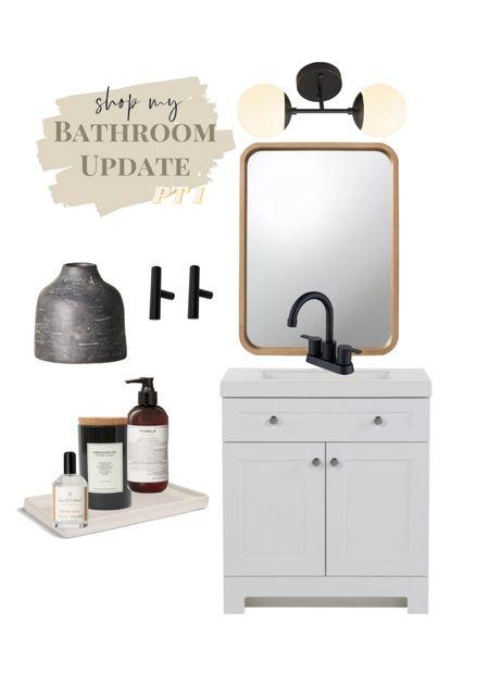 bathroom remodel🤍  #LTKhome
