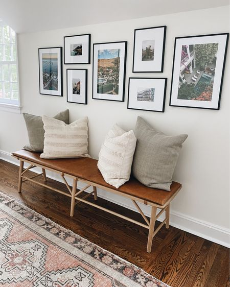 Gallery wall frames // home decor // Oushak rug is one of a kind from Etsy #LTKhome #LTKunder50 #LTKunder100 #liketkit @liketoknow.it http://liketk.it/3hFoQ
