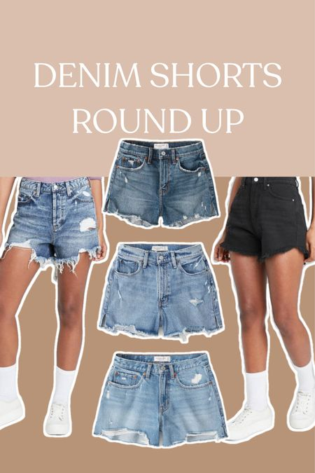 Some of my favorite denim shorts, with several styles marked down until Sunday!