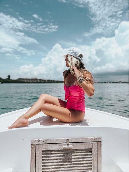 Summer is still here 💗 Swimmie under $25! #thesunnyblonde #swimsuit #onepiece #amazon     #LTKswim #LTKtravel #LTKunder50