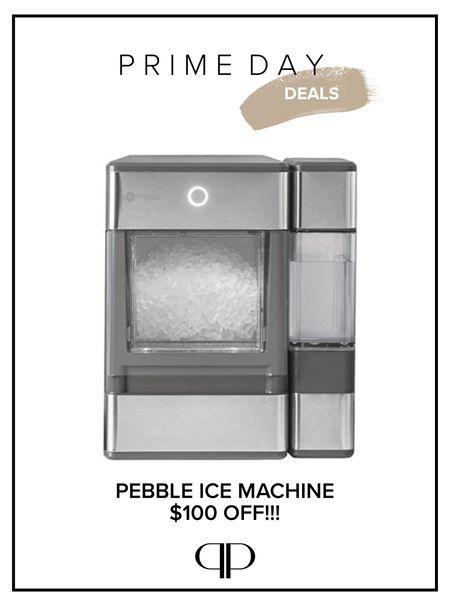 Amazon prime day deals! Pebble ice machine, sale alert   #LTKhome #LTKsalealert #LTKfamily