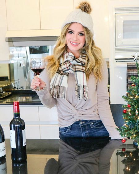 #LTKholidaystyle #LTKholidayathome #LTKcurves #LTKhome #LTKunder50 @liketoknow.it.home Download the LIKEtoKNOW.it app to shop this pic via screenshot. #liketkit @liketoknow.it http://liketk.it/2yFCA  Happy Wine Weds! Have you guys ever tried any wines from the region of Southwest France? @winesofswfrance This region was awarded Region of the Year by @wineenthusiast in 2017🎖 . They grow many of the same grape varieties as Bordeaux but with the addition of lesser known grapes. 🍇Have you ever tried a Tannat wine? 🍷It's super tannic and has FOUR TIMES the amount of cancer fighting polythenols than both Merlot and Cabernet Sauvignon! 😱 With the addition of growing outstanding grape varieties, the Region of Southwest France also is rich in history. 📚Believe it or not the Appellation of Cahors is where where Malbec originated! The history of Cahors winemaking goes back to the era of Ancient Rome!  There are records of vines being planted in the area around 50 BC. For more on Southwest France's Reds check out my latest blog article (link in bio) Cheers Amanda 💃🏼