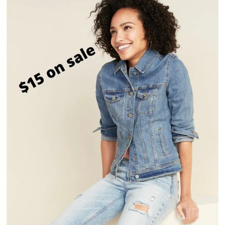 $15 on sale for this and other denim jackets! I have one of their denim jackets and I like it a lot. Goes with so much, well made, low price. http://liketk.it/3fXx7   #liketkit @liketoknow.it #competition #ltkseasonal #denimjacket #LTKsalealert #LTKunder50 #LTKstyletip @liketoknow.it.brasil @liketoknow.it.europe You can instantly shop all of my looks by following me on the LIKEtoKNOW.it shopping app @liketoknow.it.home denim jacket old navy