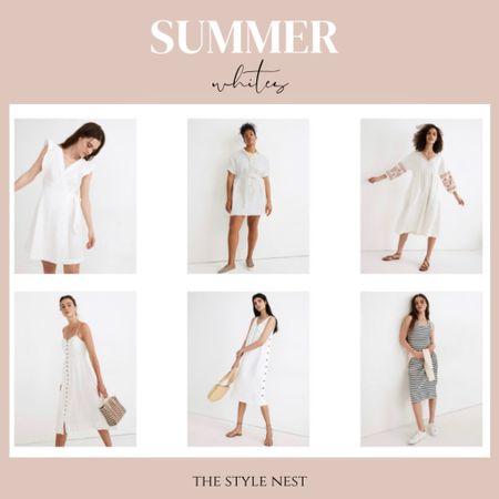 Summer white dresses! #ltksale #ltkday #madewell #summerdresses #summerfashion #whitedresses #summercasualstyle #madewellsale #dresses http://liketk.it/3huMa #liketkit @liketoknow.it #linendresses #whitedresses